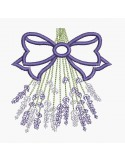 Instant download machine embroidery lavander