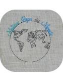 Embroidery design super teacher