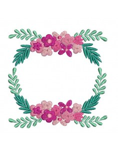 Embroidery design weeding frame
