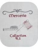 Motif de broderie couture N 5