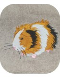 embroidery design guinea pig