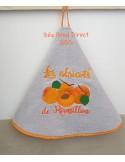 Motif de broderie machine abricots
