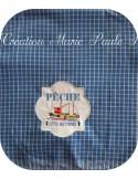 Embroidery design horizon