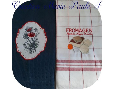 Instant download machine embroidery flower cotton