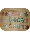 machine embroidery design owl mylar keychains ith