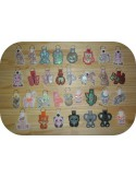 machine embroidery design lama mylar keychains ith