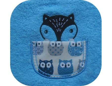 machine embroidery design   Sloth