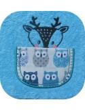 machine embroidery design tiger