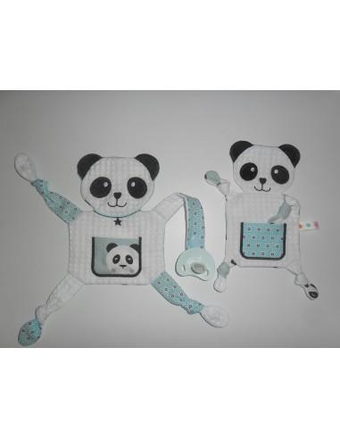 Motif de broderie machine doudou panda  ITH
