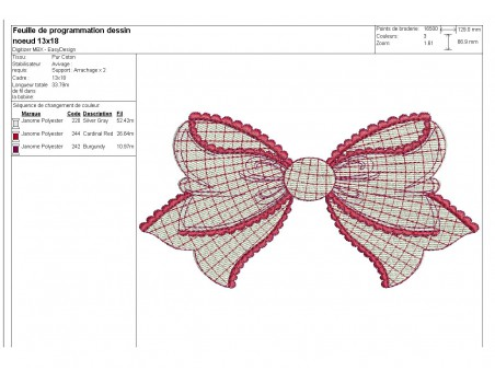 Instant download machine embroidery  applique ribbon