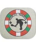 Motif de broderie machine pelote basque