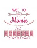 Instant dowload machine  Embroidery design granny  and me
