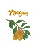 instant download machine embroidery design lychees
