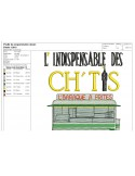 Instant download machine embroidery design  chip shop from the north