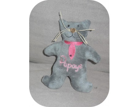 Instant download machine embroidery cat ith
