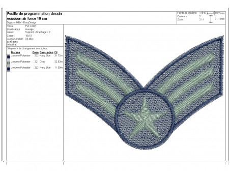 Instant download machine embroidery  plane