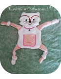 Instant download machine embroidery Teddy bear ith