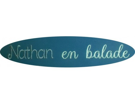 Instant dowload machine  Embroidery design customizable name