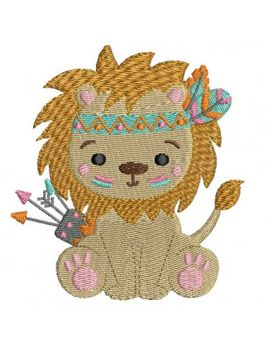 embroidery design sloth