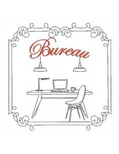 Instant download machine embroidery design kitchen