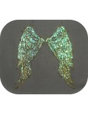 Instant download machine embroidery design angel wings