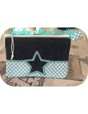 Instant download machine embroidery wallet ith