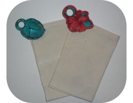 Instant download machine embroidery design  lemon Towel Topper