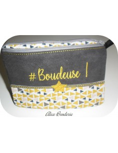 Instant download machine embroidery  bordélique  kit ith