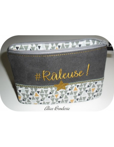 Instant download machine embroidery râleuse kit ith