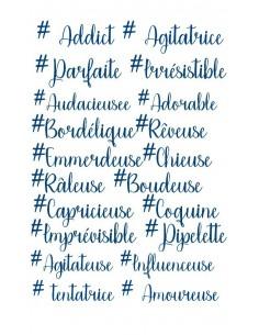 Motif de broderie machine # mots