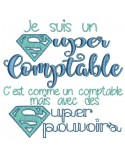 Embroidery design super accountant