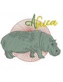 embroidery design  chameleon