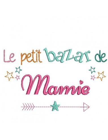 Embroidery design Mom's Bazaar