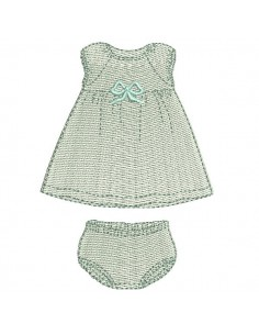 Motif de broderie machine ensemble bloomer fille