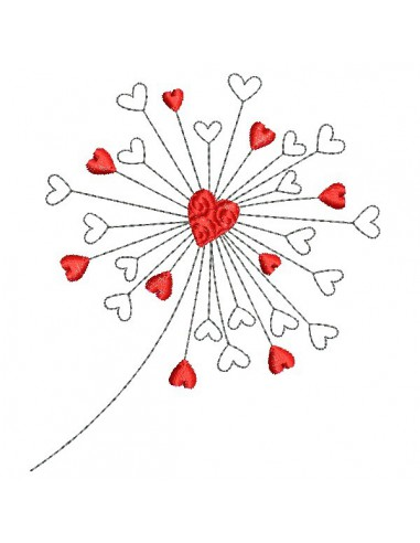 Instant download machine embroidery gypsophile