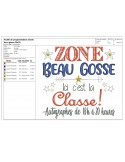 Instant download machine embroidery beautiful kid