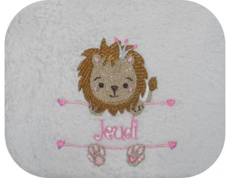Instant download machine embroidery cow to customize for girl