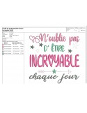 Instant download machine embroidery design dreams and stars