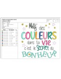 Instant download machine embroidery design to be amazing every day