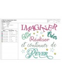 Instant download machine embroidery design color in your life