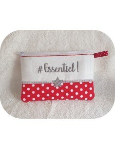 Motif de broderie machine ITH trousse Essentiel