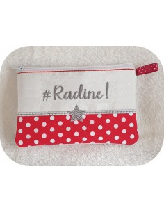 Instant download machine embroidery Radine kit ith