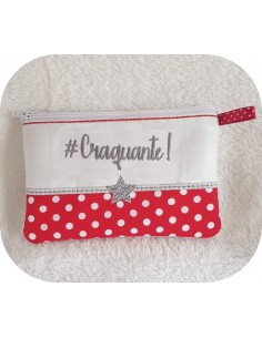 Instant download machine embroidery Craquante kit ith