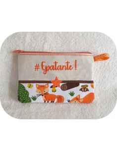 Instant download machine embroidery Epatante kit ith
