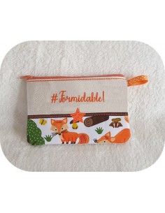 Motif de broderie machine ITH trousse Formidable