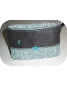 Motif de broderie machine ITH trousse personnalisable