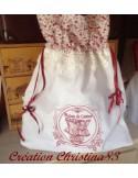 Motif de broderie corset