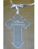 Motif de broderie  croix religieuse ITH