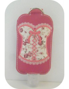 Instant download machine embroidery ith Sanitizer Holders Set bustier