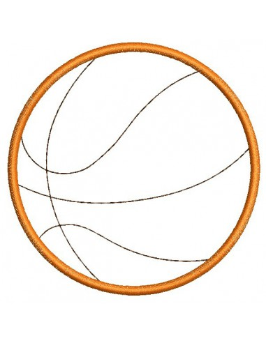Instant download  machine embroidery design text I can not Basketball
